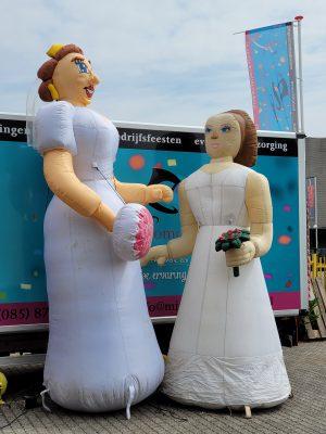 Bruidspaar vrouw-vrouw