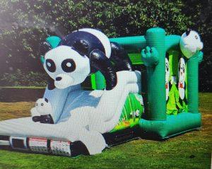 Panda springkussen